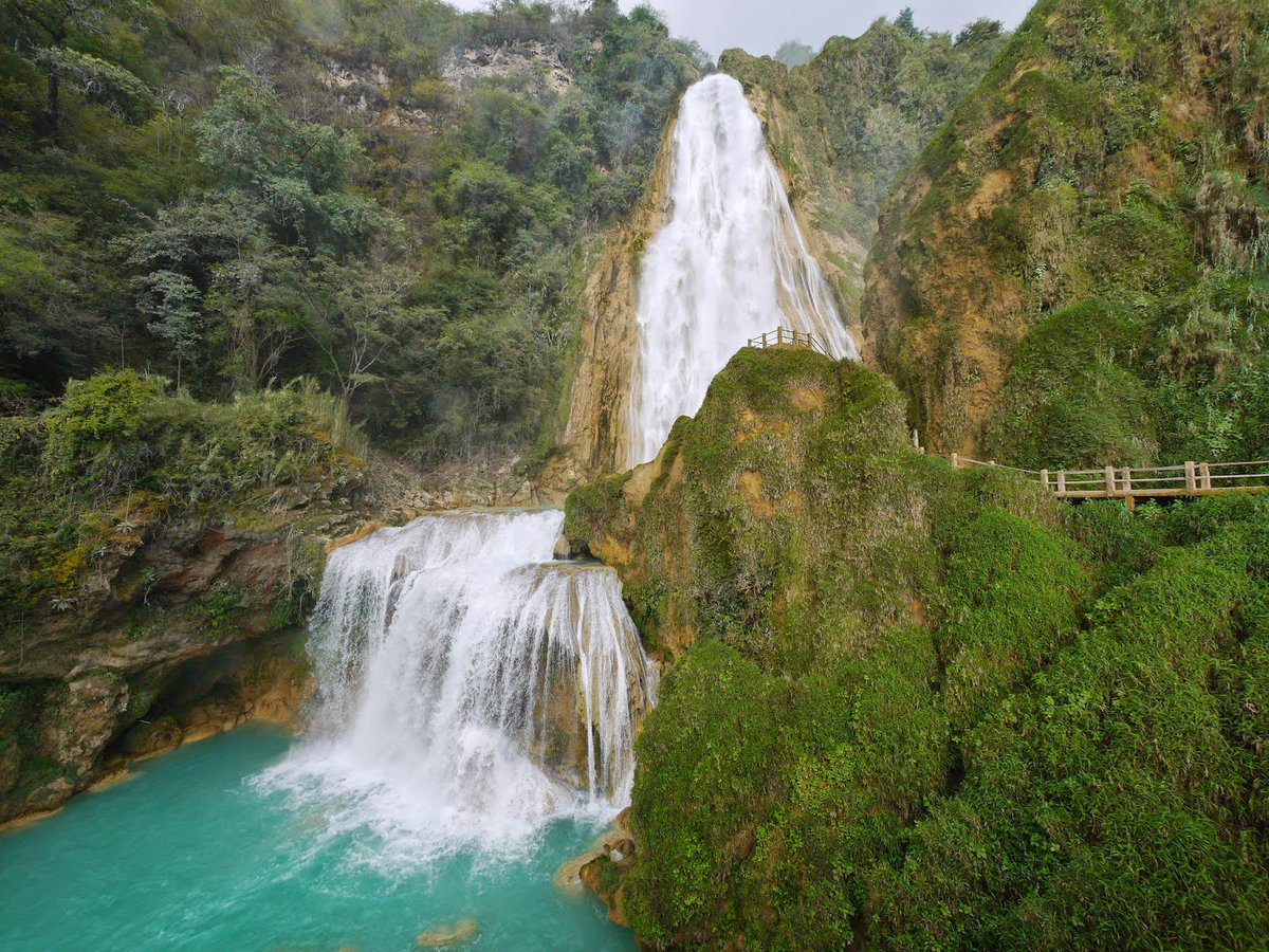 cascada de cacalotenango